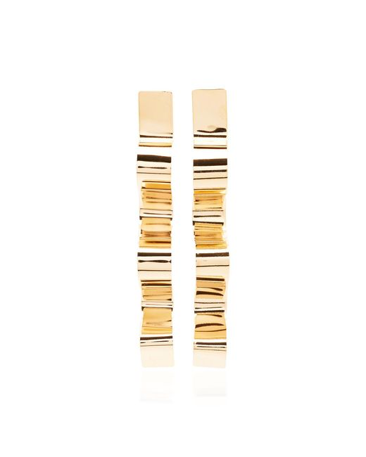Bia Daidone - Metallic Sofia 24k Gold-plated Earrings - Lyst