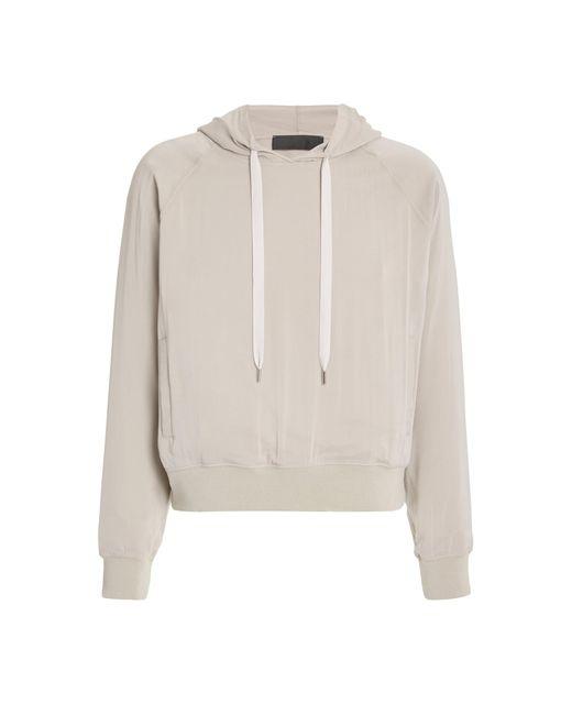 Haider Ackermann Multicolor Silk-blended Hooded Sweatshirt for men