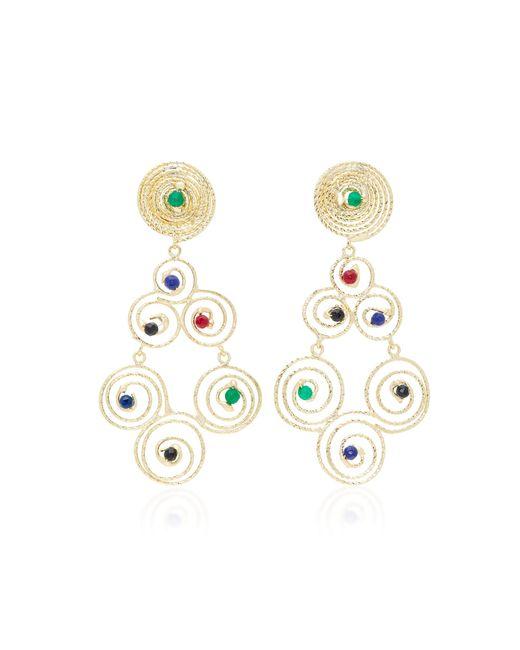 Rosantica   Metallic Gold-tone Brass Earrings   Lyst