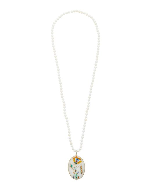 Silvia Furmanovich - White India Marble Mosaic Necklace - Lyst