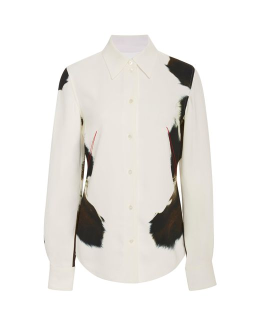 Victoria Beckham - Multicolor Animal-print Shirt - Lyst