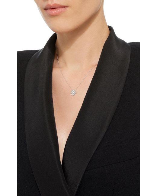 Suzanne Kalan | Metallic 18k White Gold Diamond Necklace | Lyst
