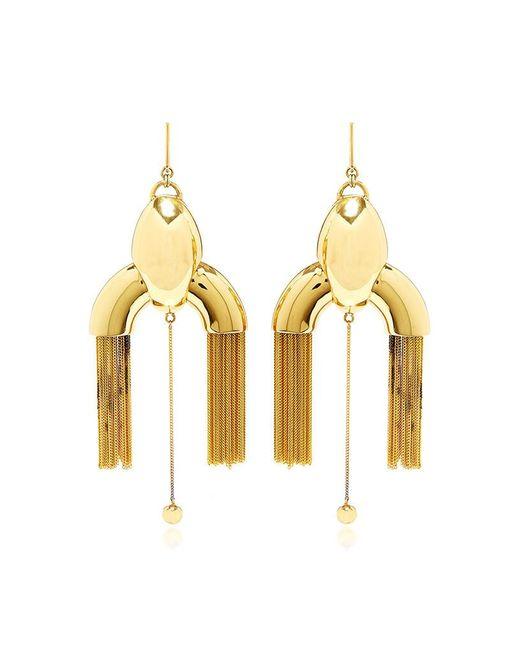 Ellery | Metallic Anthology Large Chandelier Earrings | Lyst