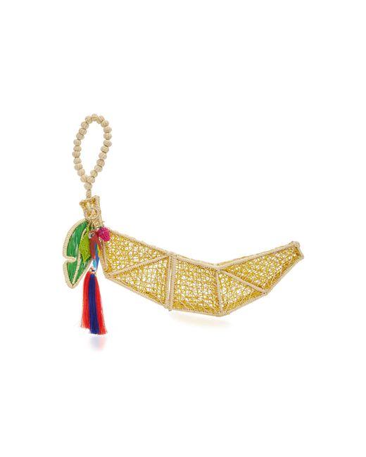 Mercedes Salazar | Yellow Banano Tropical Earrings | Lyst