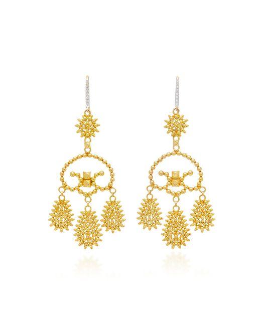 Hanut Singh | Metallic Girandole Earrings | Lyst