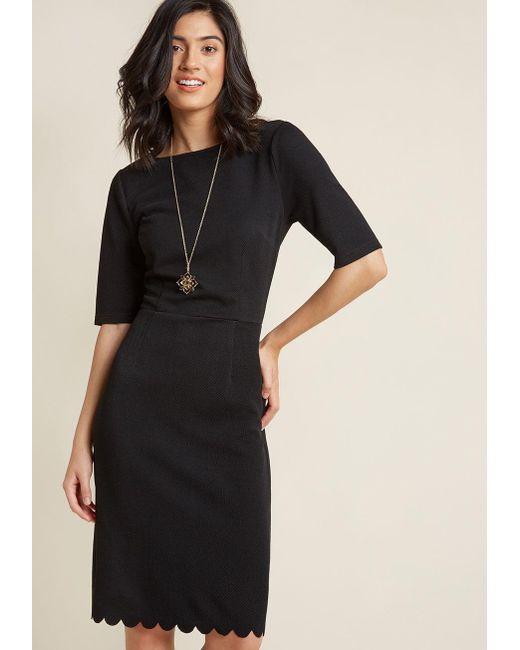 Sugarhill   Black Absolutely Audrey Sheath Dress   Lyst