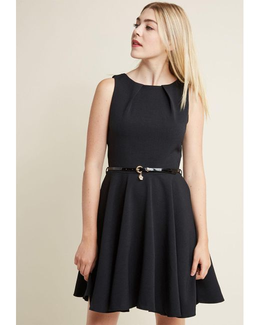 ModCloth | Luck Be A Lady A-line Dress In Black | Lyst