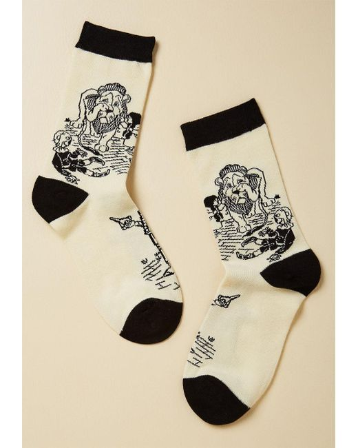 ModCloth | White Oz And Effect Socks | Lyst