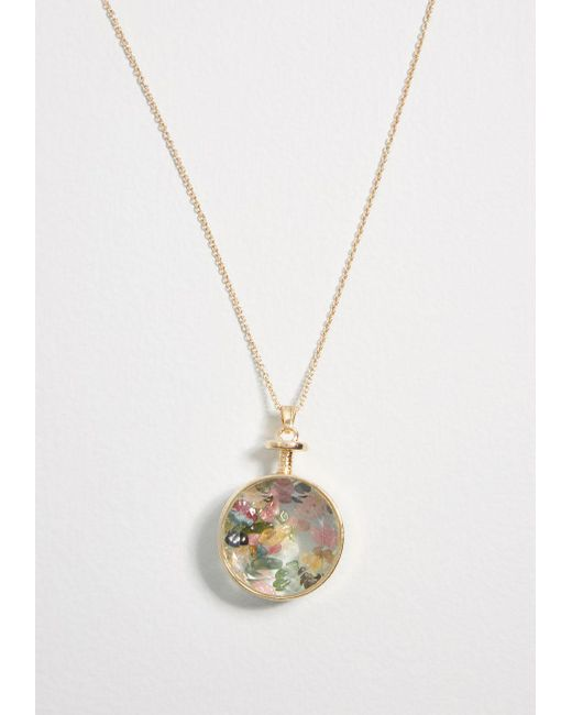 ModCloth - Metallic Rocky Beginnings Pendant Necklace - Lyst