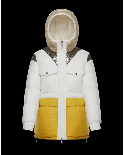Moncler White Theret for men