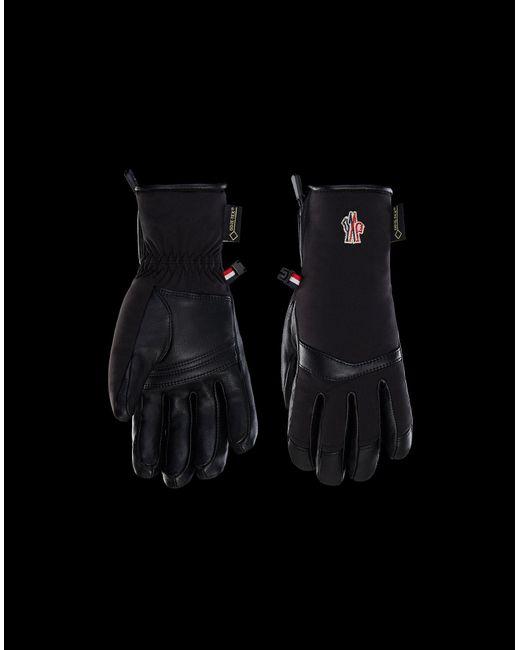 3 MONCLER GRENOBLE Black Ski Gloves