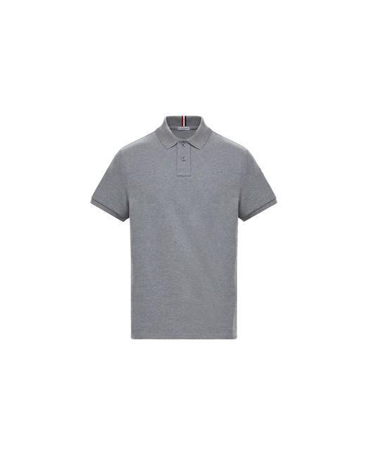 Moncler Gray Polo for men