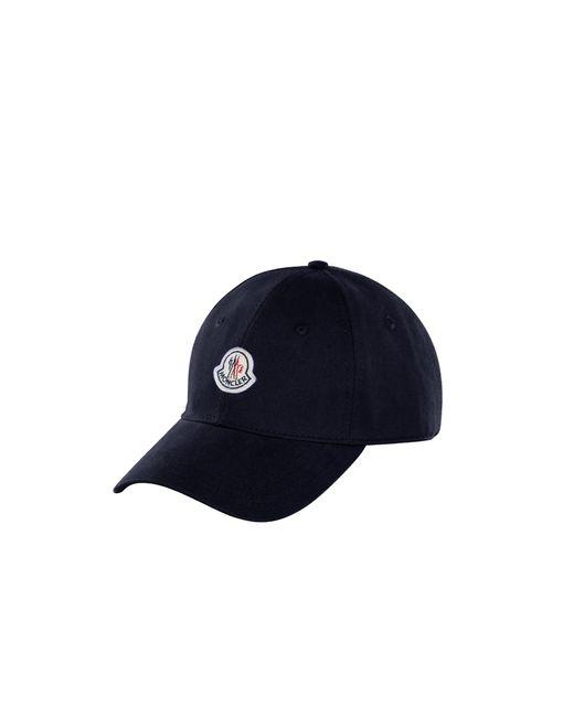 Moncler Blue Baseball Hat for men