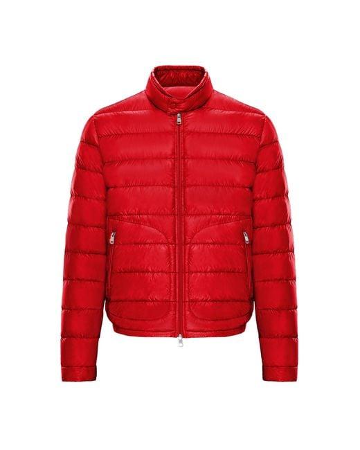 Moncler Red Acorus for men