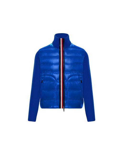 Moncler Blue Lined Jumper for men