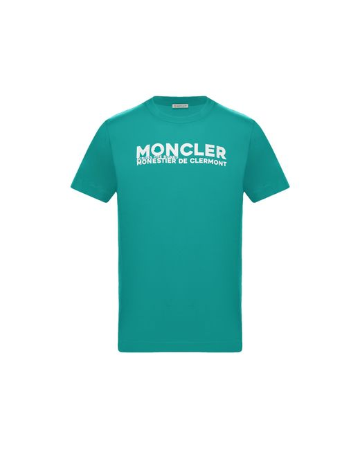 T-SHIRT di Moncler in Green da Uomo
