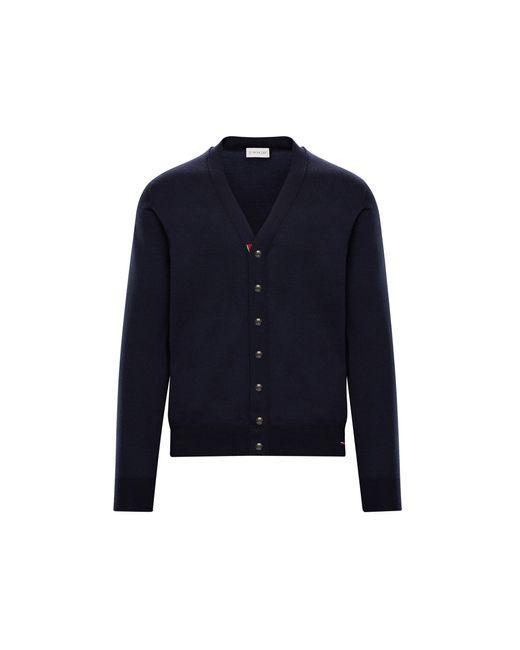 Moncler Blue Cardigan for men