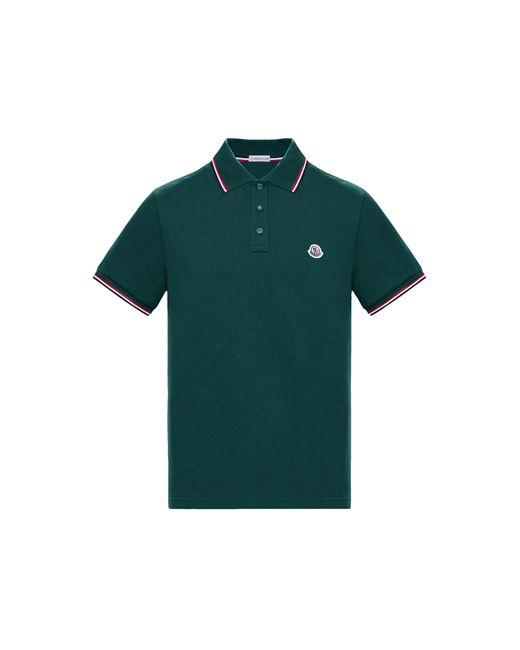 Moncler Green Polo for men