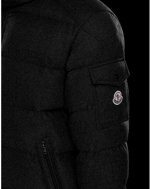 MONTGENEVRE di Moncler in Black da Uomo