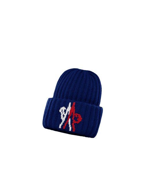 Moncler Blue Hat for men