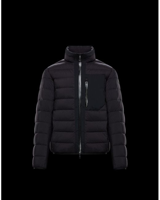 3fbe349fa new style c8b76 07ae6 lyst moncler maglia hooded jacket in blue for ...