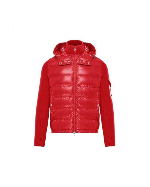 Moncler Red Lined Jumper for men
