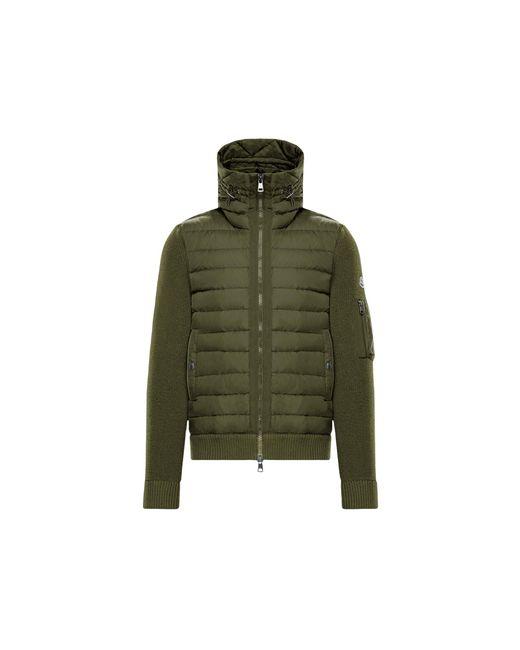 Moncler Green Lined Jumper for men
