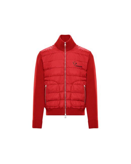 Moncler Red Lined Sweater for men