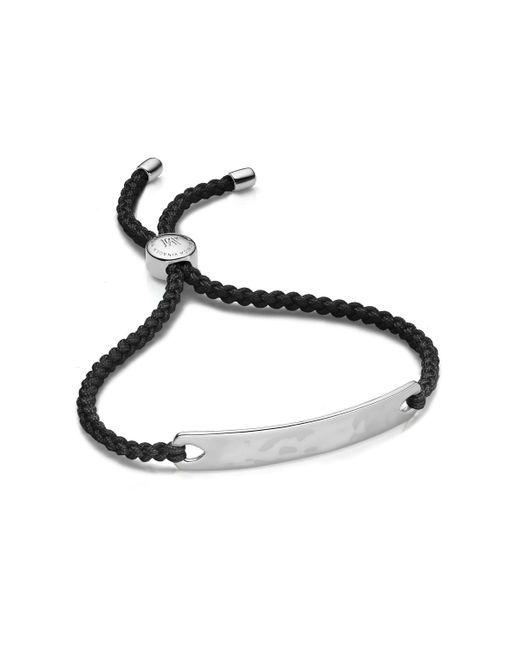 Monica Vinader - Black Havana Friendship Bracelet - Lyst