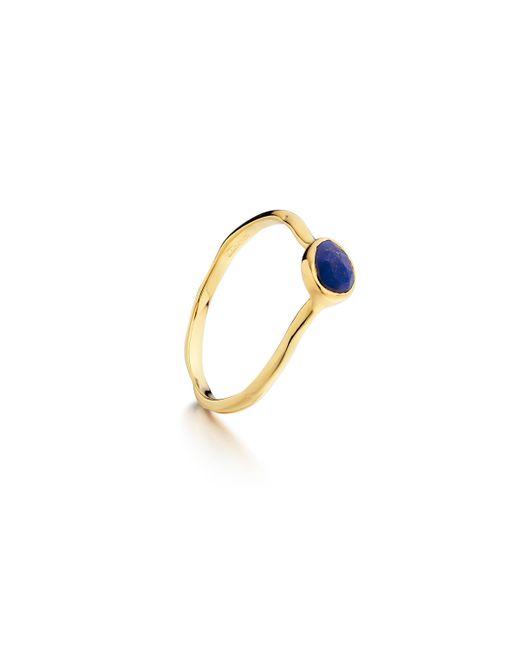 Monica Vinader   Metallic Siren Small Stacking Ring   Lyst