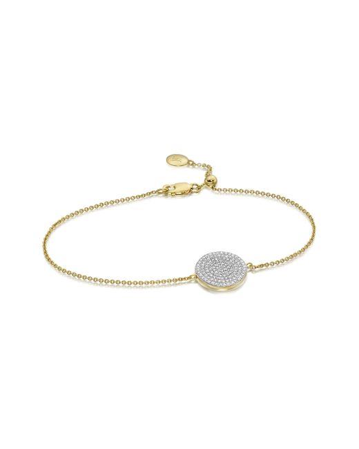 Monica Vinader | Metallic Ava Disc Bracelet | Lyst
