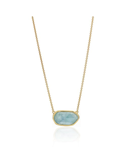 Monica Vinader | Metallic Capri Necklace | Lyst