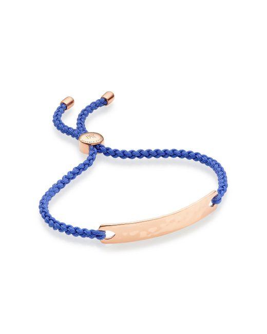 Monica Vinader   Metallic Esencia Friendship Bracelet   Lyst