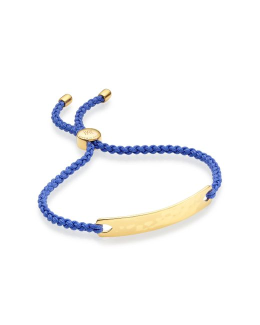 Monica Vinader | Metallic Esencia Friendship Bracelet | Lyst
