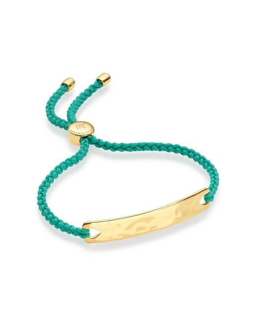 Monica Vinader | Green Havana Friendship Bracelet | Lyst