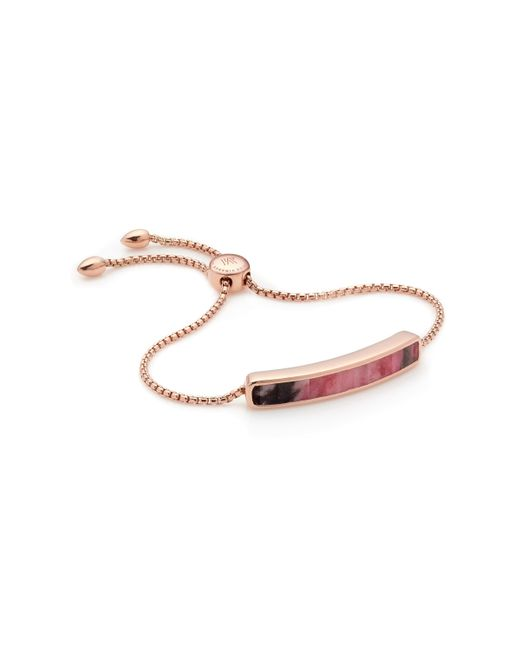 Monica Vinader | Pink Baja Bracelet | Lyst