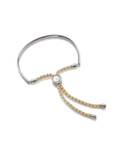 Monica Vinader | Natural Fiji Friendship Petite Bracelet | Lyst