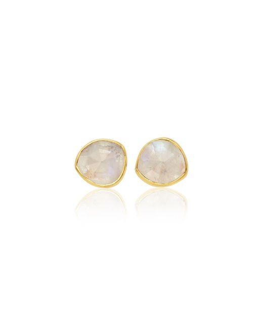 Monica Vinader | Pink Siren Stud Earrings | Lyst