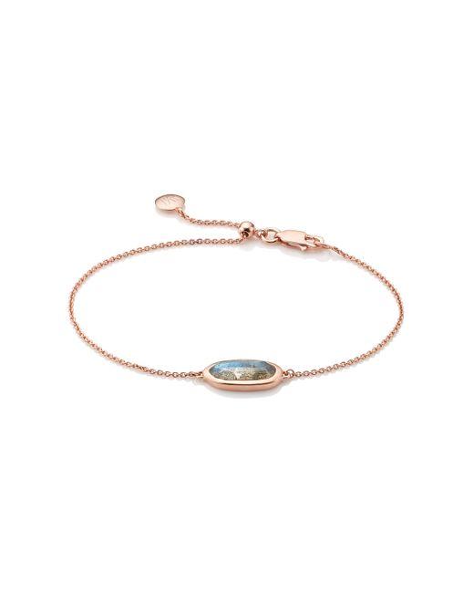 Monica Vinader | Pink Vega Bracelet | Lyst