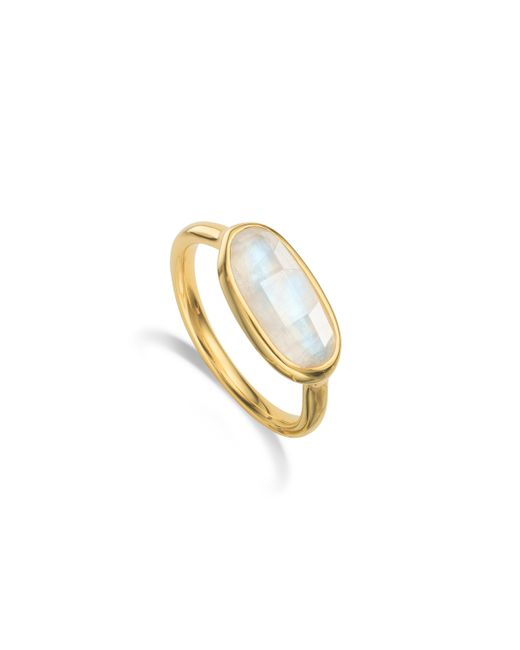 Monica Vinader | Pink Vega Ring | Lyst