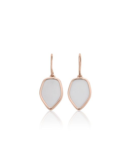 Monica Vinader | Pink Atlantis Flint Drop Earrings | Lyst