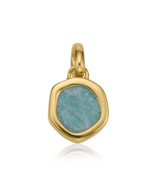 Monica Vinader | Metallic Atlantis Gem Mini Pendant | Lyst
