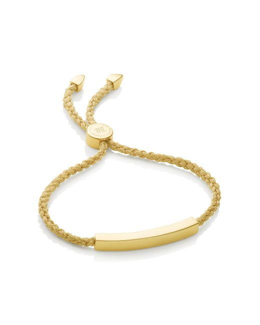 Monica Vinader | Metallic Havana Friendship Bracelet | Lyst