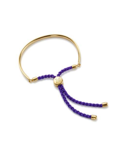 Monica Vinader | Metallic Fiji Bracelet | Lyst