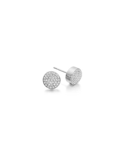 Monica Vinader - Metallic Ava Button Stud Earrings - Lyst