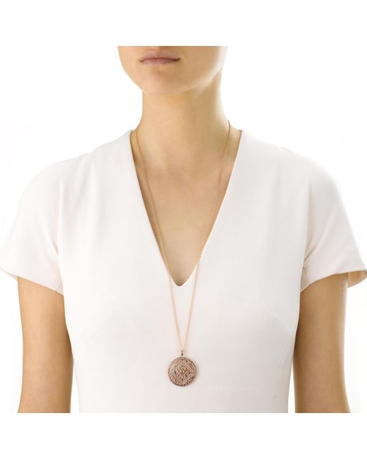 Monica Vinader Pink Adjustable Rolo Chain (24)