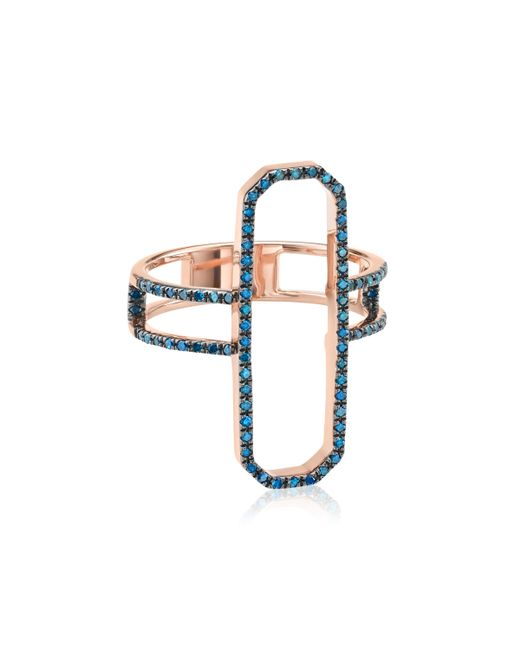 Monica Vinader | Blue Naida Cocktail Ring | Lyst