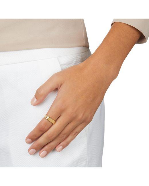 Rose Gold Signature Ring Monica Vinader NxPc6A