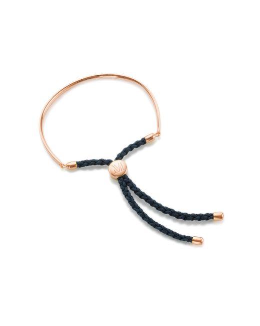 Monica Vinader | Blue Fiji Friendship Petite Bracelet | Lyst