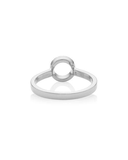 Monica Vinader Metallic Naida Mini Circle Open Ring